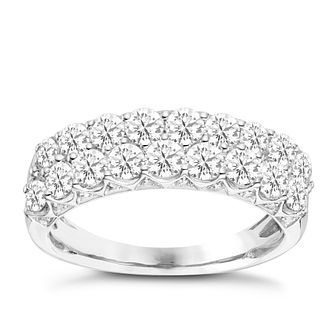 9ct White Gold 1 1/2ct Diamond Eternity Ring - Product number 8101299