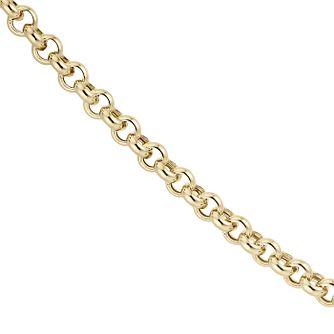 "9ct Yellow 20"" Gold Belcher Necklace - Product number 8109109"
