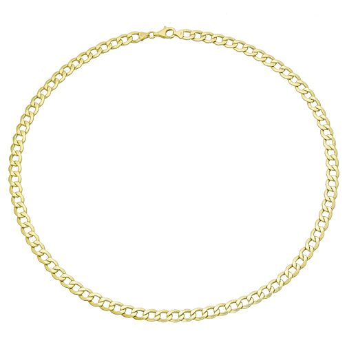 "9ct Yellow Gold 20"" Hollow Curb Chain - Product number 8109133"