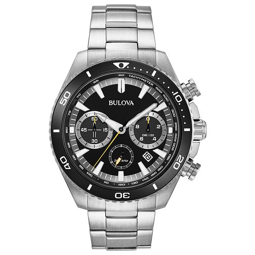 Bulova Men's Stainless Steel Bracelet Chronograph Watch - Product number 8109257