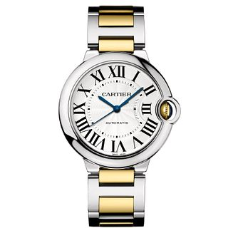 Cartier Ballon Bleu ladies' two colour bracelet watch - Product number 8112215