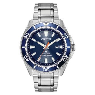 Citizen Promaster Diver Men's Stainless Steel Bracelet Watch - Product number 8117195