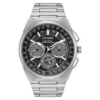 Citizen Men's Eco Drive Satellite Titanium Watch - Product number 8117241