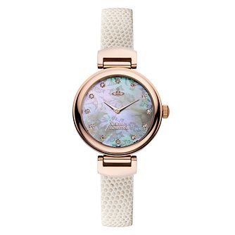 Vivienne Westwood Hampton Ladies' Rose Gold Tone Watch - Product number 8118744