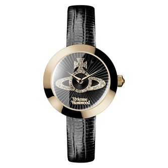 Vivienne Westwood Queensgate Ladies' Yellow Gold Tone Watch - Product number 8118760