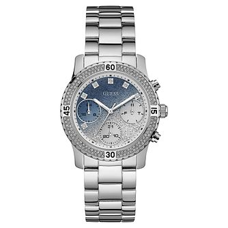 Guess Ladies' Stainless Steel Bracelet Watch - Product number 8119341