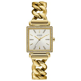 Guess Ladies' Gold Tone Bracelet Watch - Product number 8119511