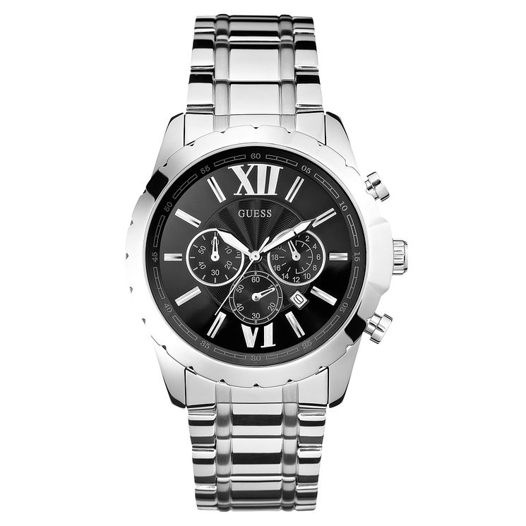 Guess Men's Stainless Steel Bracelet Watch - Product number 8119554