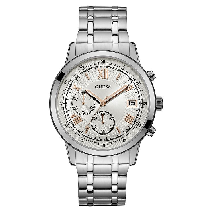 Guess Men's Stainless Steel Bracelet Watch - Product number 8119570