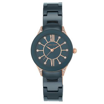 Anne Klein Ladies' Blue Ceramic Bracelet Watch - Product number 8119627