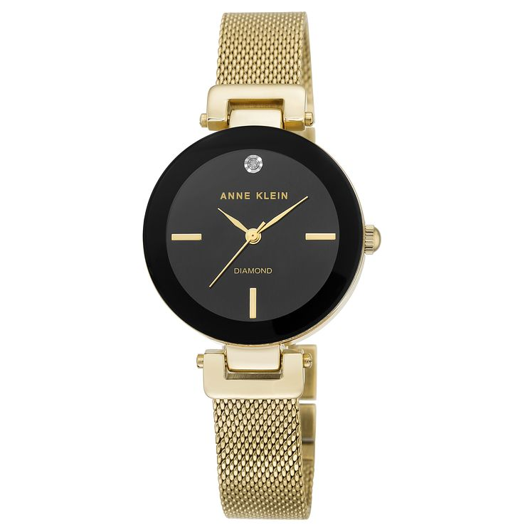 Anne Klein Ladies' Gold Mesh Bracelet Watch - Product number 8119635