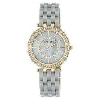 Anne Klein Ladies' Grey Resin Bracelet Watch - Product number 8119686