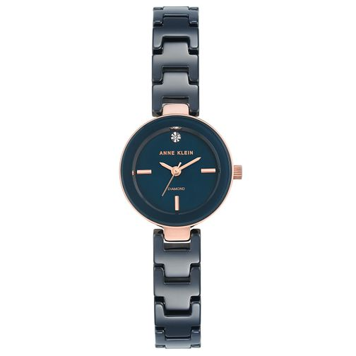 Anne Klein Ladies' Blue Ceramic Bracelet Watch - Product number 8119724