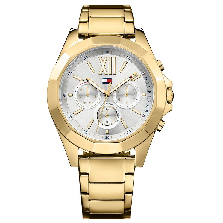 Tommy Hilfiger Ladies' Gold IP Bracelet Watch - Product number 8120064