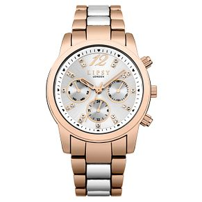 Lipsy Ladies' Two Tone Stainless Steel Bracelet Watch - Product number 8120285