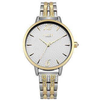 Lipsy Ladies' Two Tone Alloy Bracelet Watch - Product number 8120307