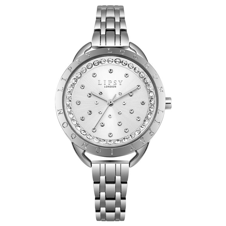 Lipsy Ladies' Silver Bracelet Watch - Product number 8120358