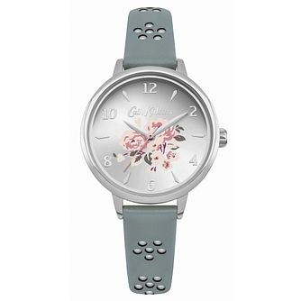 Cath Kidston Ladies' Grey Leather Strap Watch - Product number 8120528