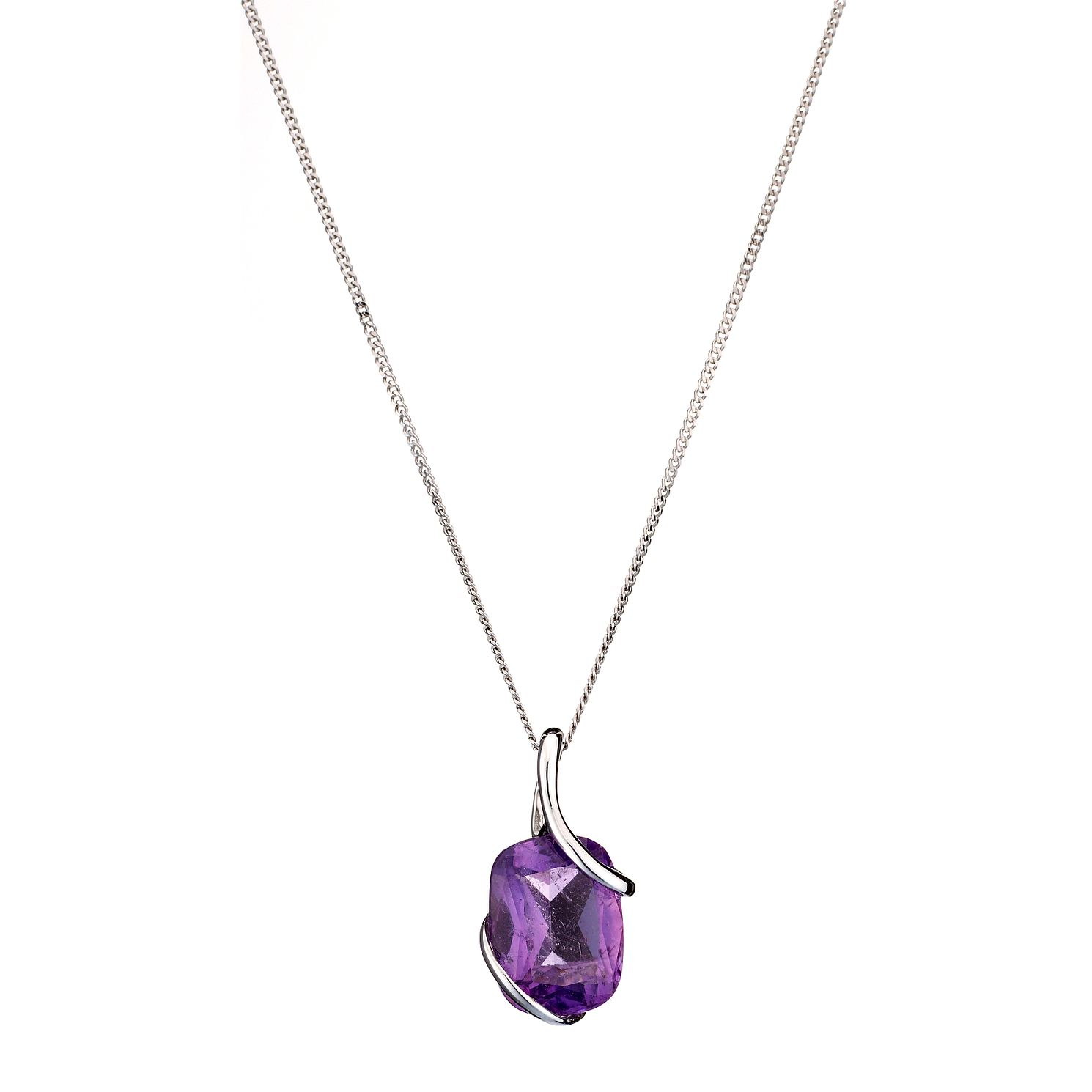 silver ltd amethyst necklace img curiology products collections jewellery sterling