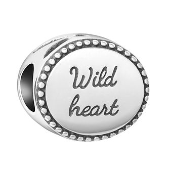 Chamilia Sterling Silver Wild Heart Bead - Product number 8127972