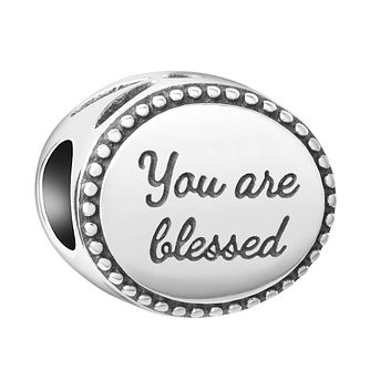 Chamilia Sterling Silver You Are Blessed Charm - Product number 8127980