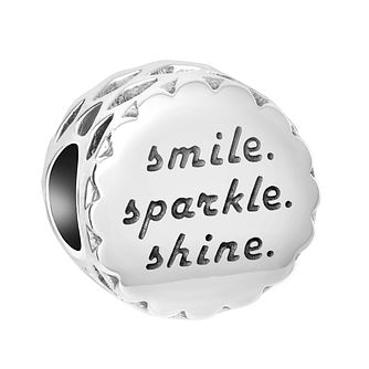 Chamilia Sterling Silver Smile Sparkle Shine Charm - Product number 8128030