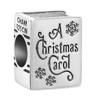 Chamilia Sterling Silver A Christmas Carol Book Charm - Product number 8128065