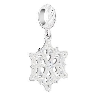 Chamilia Sterling Silver Frosty Snowflake Charm - Product number 8128227