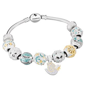 Chamilia Sterling Silver Peace on Earth Gift Set - Product number 8128421
