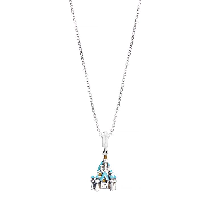 Chamilia Disney Sterling Silver Castle Necklace - Product number 8128480