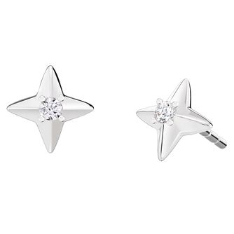 Chamilia Sterling Silver Small Star Earrings - Product number 8128510