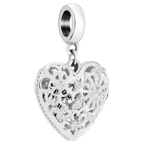 Chamilia Sterling Silver Melt My Heart Bead - Product number 8128693