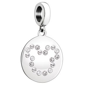 Chamilia Disney Sterling Silver Mickey Mouse Silhouette - Product number 8128715