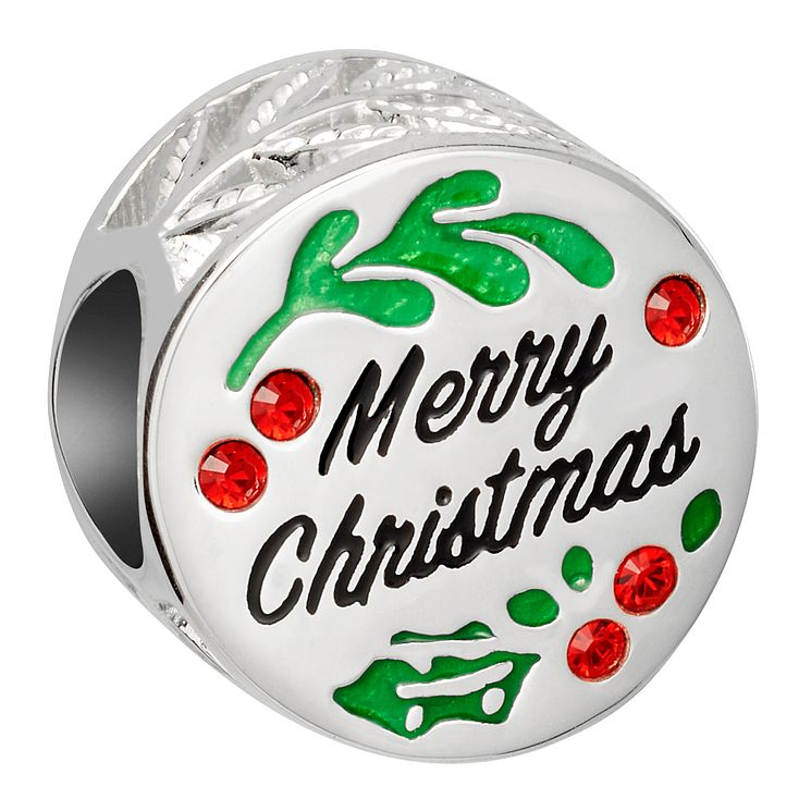 Chamilia Sterling Silver Merry Christmas Holly Bead - Product number 8128758