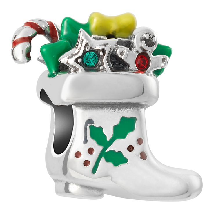 Chamilia Sterling Silver Santa's Boot Bead - Product number 8128766
