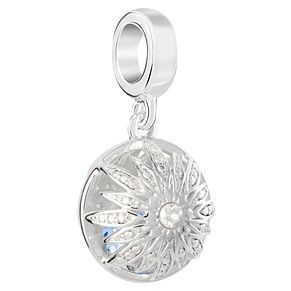 Chamilia Sterling Silver Snowflake Hidden Gem Bead - Product number 8128774