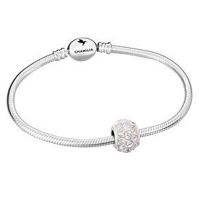 Chamilia Sterling Silver 1 Bead Bracelet - Product number 8128812