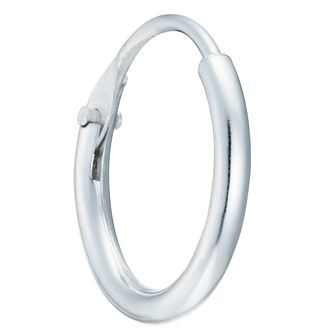 Sterling Silver 10mm Single Hoop Earring - Product number 8131058