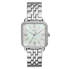 Fossil Micah Ladies' Stainless Steel Mother-of-Pearl Watch - Product number 8139490