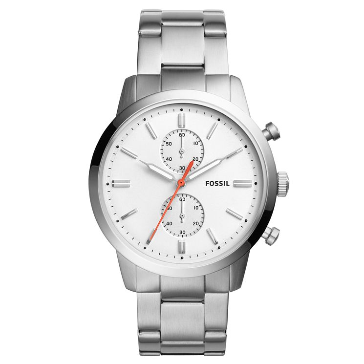 Fossil Townsman 44mm Men's Stainless Steel Bracelet Watch - Product number 8139660