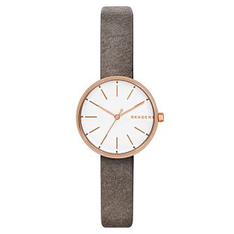 Skagen Signature Ladies' Rose Gold Tone Strap Watch - Product number 8139725