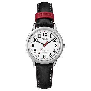 Timex Ladies' Anniversary Edition Black Leather Strap Watch - Product number 8140049