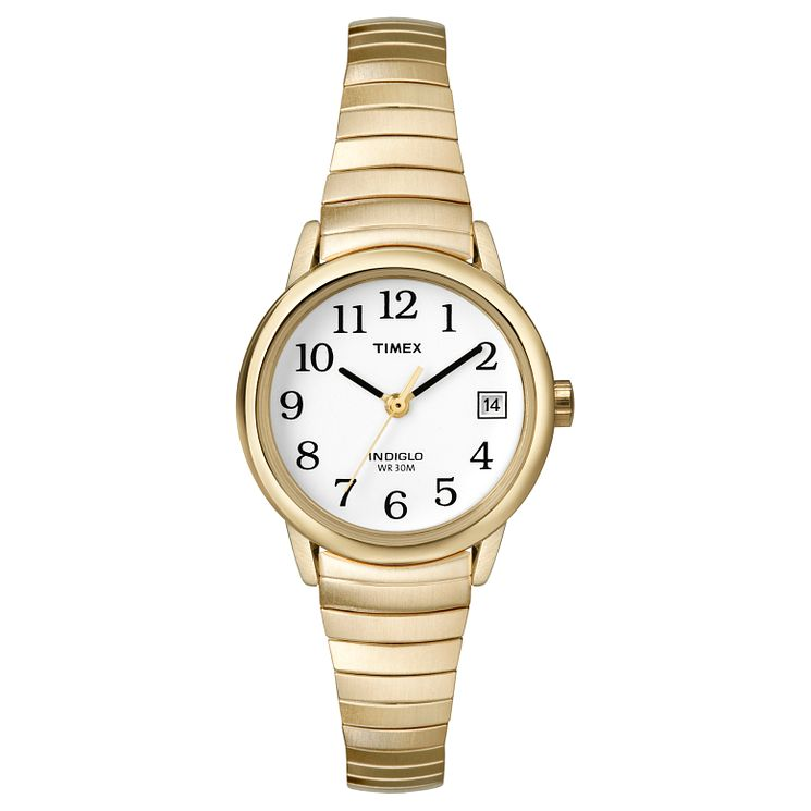 Timex Ladies' Easy Reader Stainless Steel Bracelet Watch - Product number 8140278