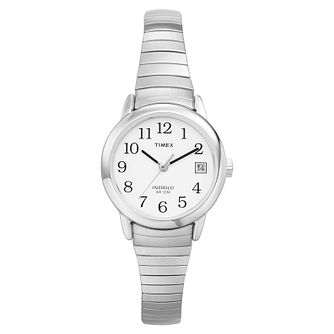 Timex Ladies' Easy Reader Stainless Steel Bracelet Watch - Product number 8140286