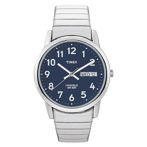 Timex Men's Easy Reader Stainless Steel Bracelet Watch - Product number 8140685