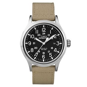 Timex Men's Expedition Scout Tan Nylon Strap Watch - Product number 8140693
