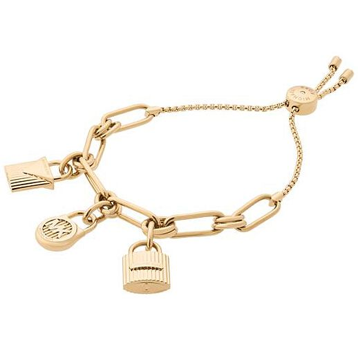 Michael Kors Haute Hardware Yellow Gold-Tone Slider Bracelet - Product number 8141118