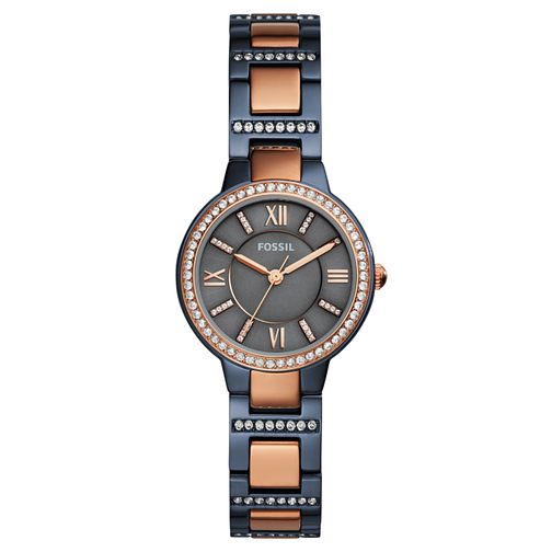 Fossil Ladies' Two Tone Steel Bracelet Watch - Product number 8144699