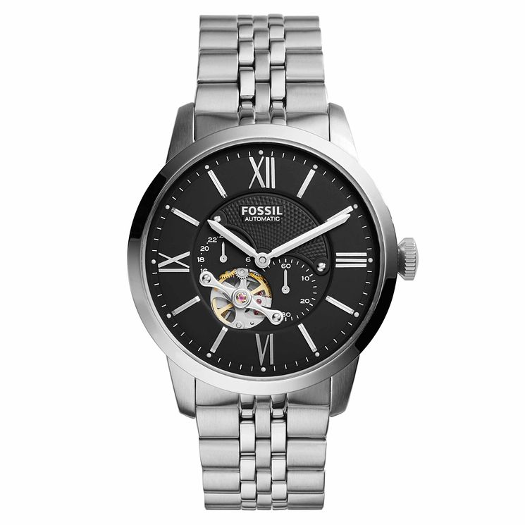 Fossil Townsman Men's Automatic Steel Bracelet Watch - Product number 8144753