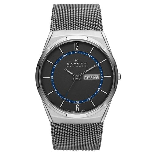 Skagen Aktiv Men's Stainless Steel Mesh Bracelet Watch - Product number 8144834